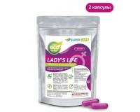 Средство возбуждающее для женщин Ladys Life 2 капсулы